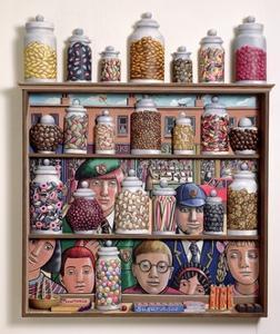 Sweetshop, 2005 by PJ Crook