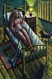 The Bride in Waiting, 2009 by PJ Crook