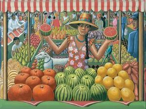 The Melon Seller, 2015 by PJ Crook