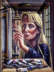 The Painter, 1995 by PJ Crook