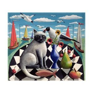 The Seagull and the Cat by PJ Crook
