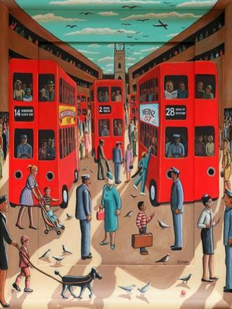 Ticket to Ride, 2015 by PJ Crook