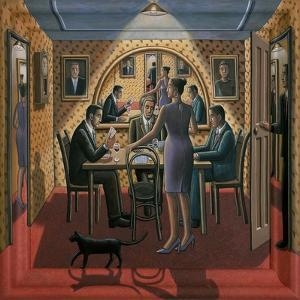 TIME TABLE, 2015 by PJ Crook