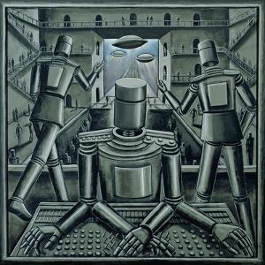 Tin God, 2003 by PJ Crook