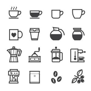 Coffee Icons by pking4th