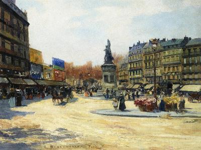Place Clichy, Paris-Carlo Brancaccio-Giclee Print