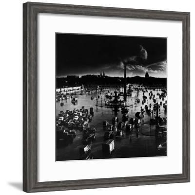 Place de La Concorde-Gordon Parks-Framed Premium Photographic Print