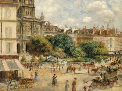 Place De La Trinite-Pierre-Auguste Renoir-Giclee Print