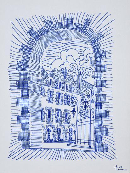 Place des Vosges, Marais, Paris, France-Richard Lawrence-Photographic Print