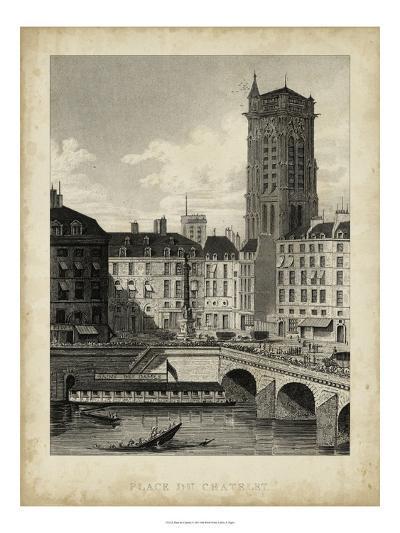 Place du Chatelet-A^ Pugin-Art Print