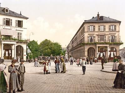 Place Du Quartier Neff, Mülhausen, Alsace Lorraine, Germany, 1890-1900--Photographic Print