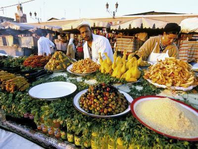 Place Jemaa El Fna, Marrakech (Marrakesh), Morocco, North Africa, Africa-Sergio Pitamitz-Photographic Print