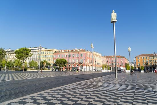 Place Messina, Nice, Alpes Maritimes, Cote d'Azur, Provence, France, Mediterranean, Europe-Fraser Hall-Photographic Print