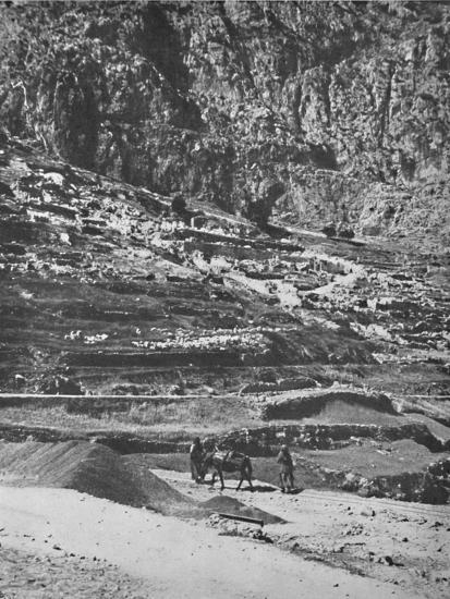 'Place of the famous Oracle, Delphi', 1913-Unknown-Photographic Print