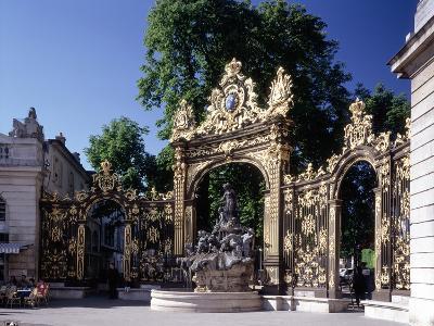 Place Stanislas, Nancy, Lorraine. 1752-1755-Annet van der Voort Bildarchiv-Monheim-Photographic Print