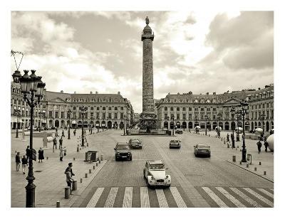 Place Vendome, Paris-Vadim Ratsenskiy-Art Print