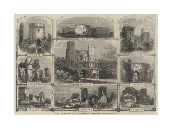 Places Near Hastings Visited by the British Archaeological Association--Giclee Print
