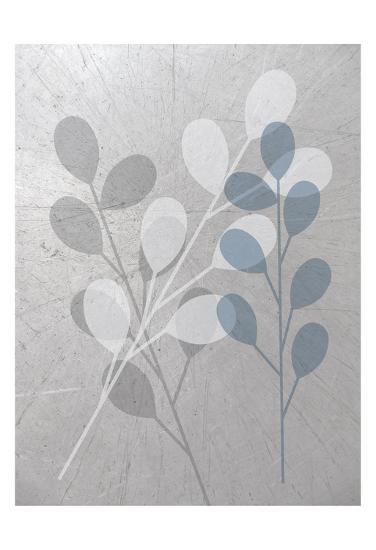 Placid Gray-Melody Hogan-Art Print