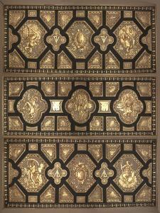 Plafond de la chambre d'Henri II