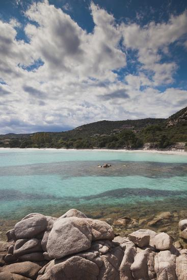 Plage De Palombaggia Beach, Porto Vecchio, Corsica, France-Walter Bibikow-Photographic Print