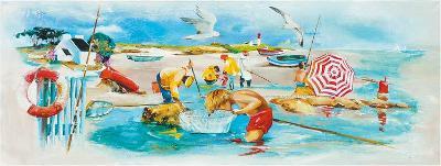 Plage et Pêche-Lizie-Art Print