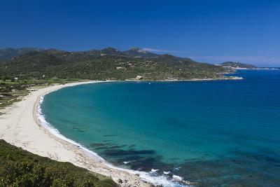Plage Lozari Beach, La Balange, Corsica, France-Walter Bibikow-Photographic Print