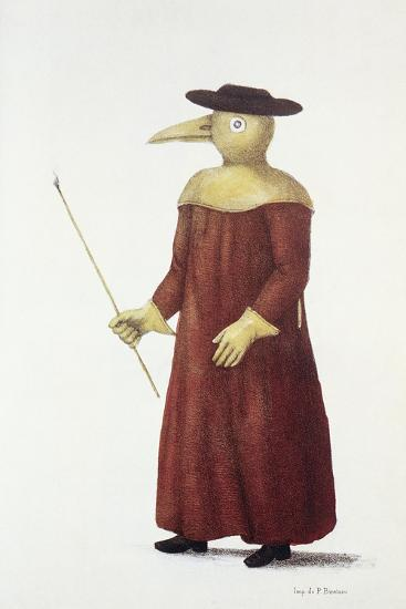 Plague Doctor, 18th Century-Science Photo Library-Photographic Print