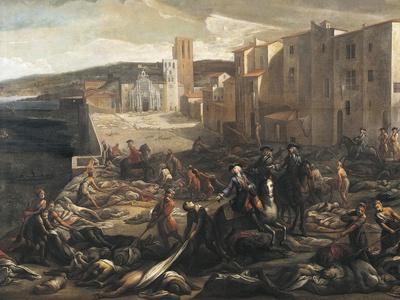 Plague In Marseilles, 1721' Giclee Print - Michel Serre Art.com