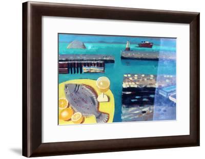 Plaice-Sara Hayward-Framed Giclee Print
