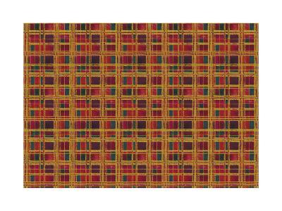 Plaid Design-Maria Trad-Giclee Print