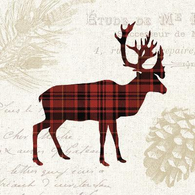 Plaid Lodge I-Wild Apple Portfolio-Art Print