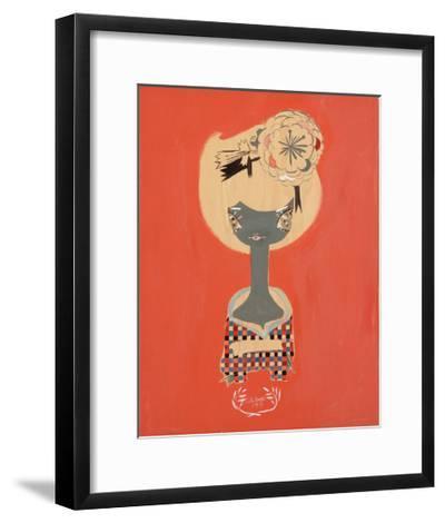 Plaid-Kelly Tunstall-Framed Giclee Print