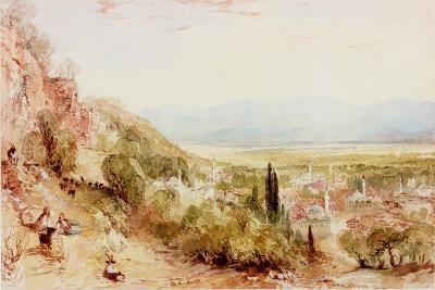 Plain of Meander, Asia Minor-Thomas Allom-Giclee Print
