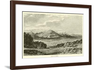 Plain of Thebes--Framed Giclee Print