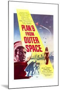 Plan 9 from Outer Space - Movie Poster Reproduction