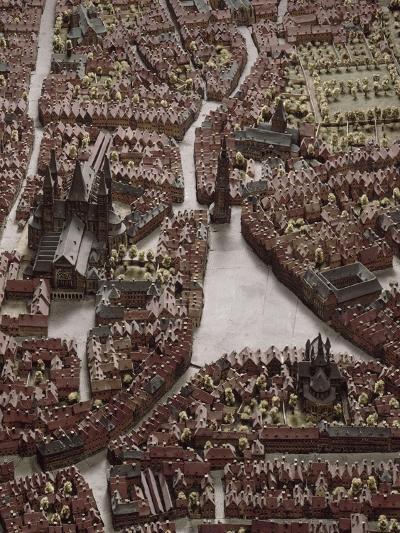 Plan en relief de Tournai : table 1--Giclee Print