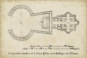 Plan for St. Peter's Basilica