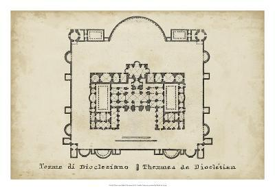 Plan for the Baths of Diocletian--Giclee Print