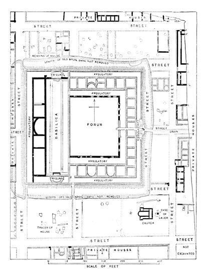 'Plan of Forum, Silchester', 1902-Unknown-Giclee Print
