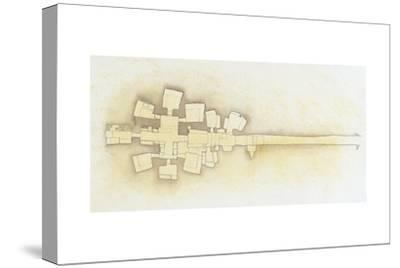 Plan of François Tomb at Vulci BC