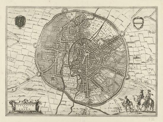 Plan of Leuven, 1581-Jan Luyken-Giclee Print