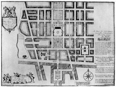 Plan of Lord Harley's Estate, London, 1907--Giclee Print