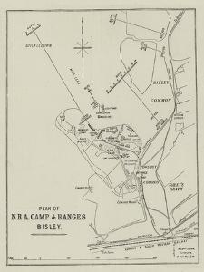 Plan of Nra Camp and Ranges Bisley