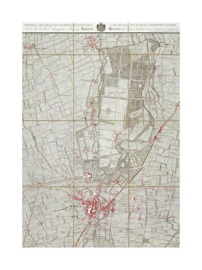 Plan of Royal Villa in Monza--Giclee Print