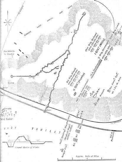 'Plan of the Battle of Tel-El-Kebir, (September 13, 1882)', c1882-Unknown-Giclee Print
