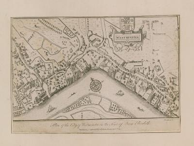 Plan of the City of Westminster--Giclee Print