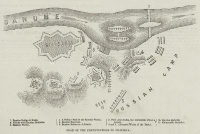 Plan of the Fortifications of Silistria--Giclee Print