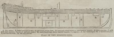 Plan of the Herring-Buss--Giclee Print