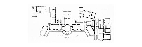 'Plan of the Pavilion showing alterations to Holland's original building completed in 1804', (1939)-Unknown-Giclee Print