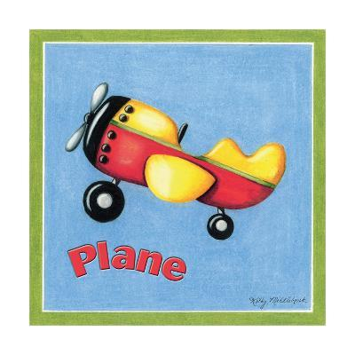 Plane-Kathy Middlebrook-Art Print